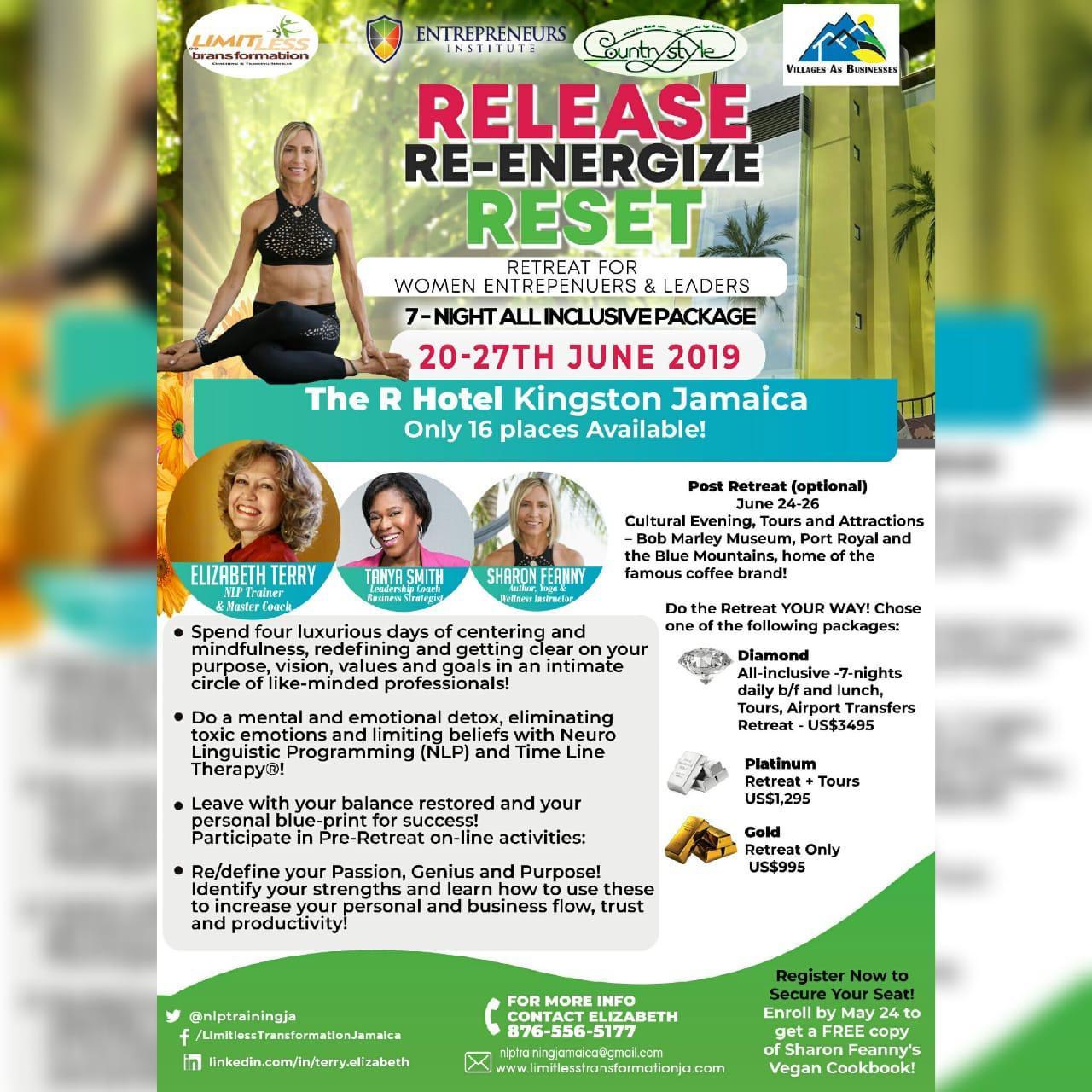 Release Reenergize Reset